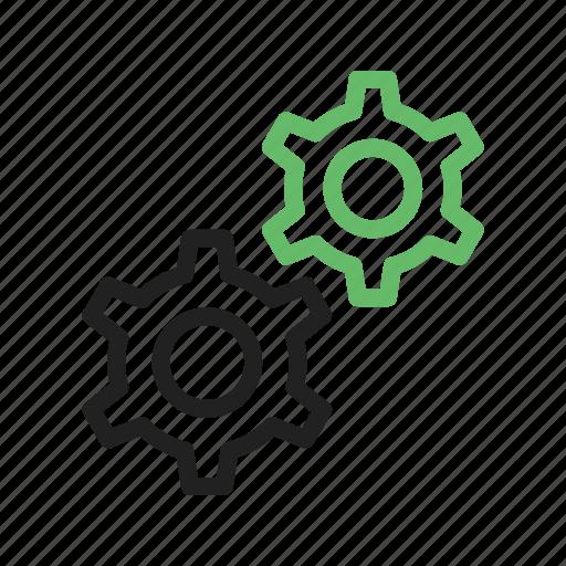 cog, gear, power, technology, web, wheel, work icon