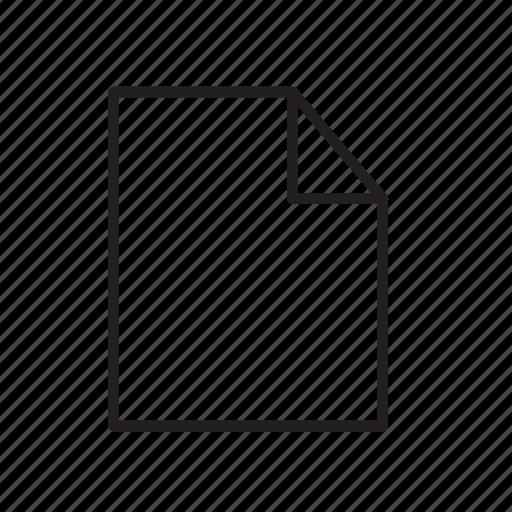 blank, doc, document, file, shotcut icon
