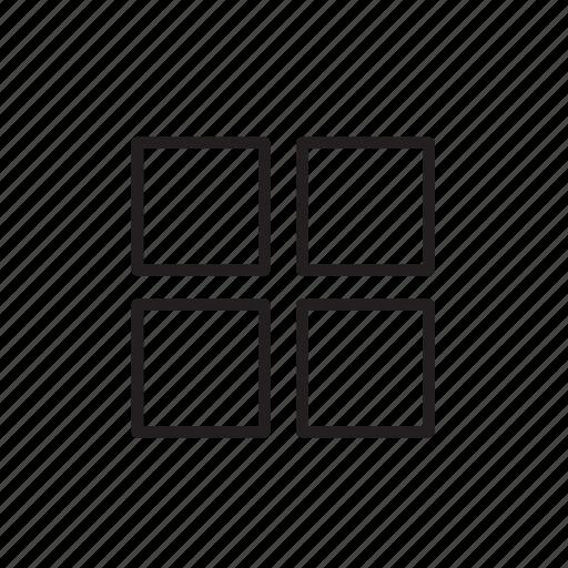 align, menu, mini icon
