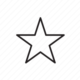 favorite, pin, star icon