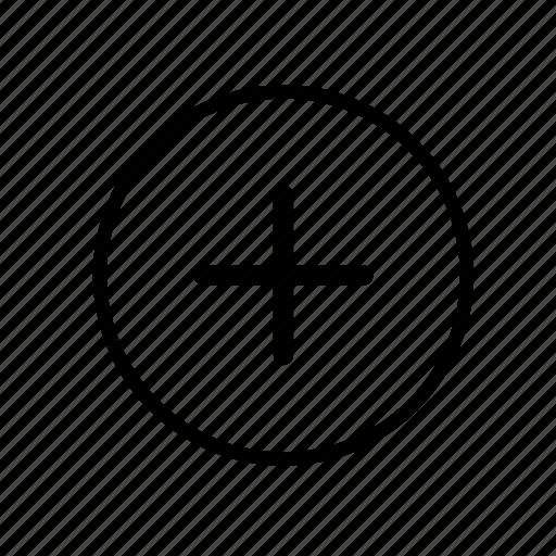 add, create, new, plus, user icon