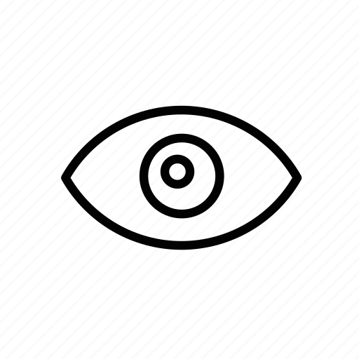 eye, look, search, view, vision icon