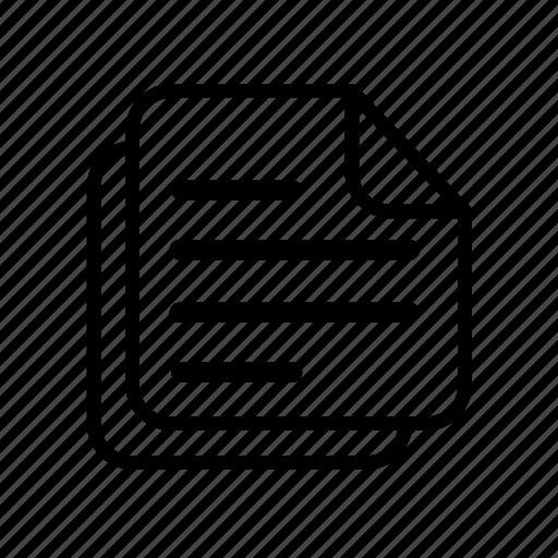 check, checklist, document, list, menu icon