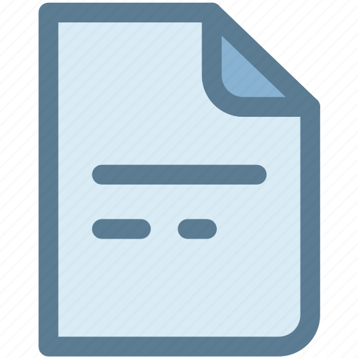 document, general, letter, note, office, page, paper icon
