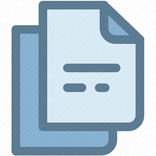 documents, general, letter, note, office, pages, papers icon