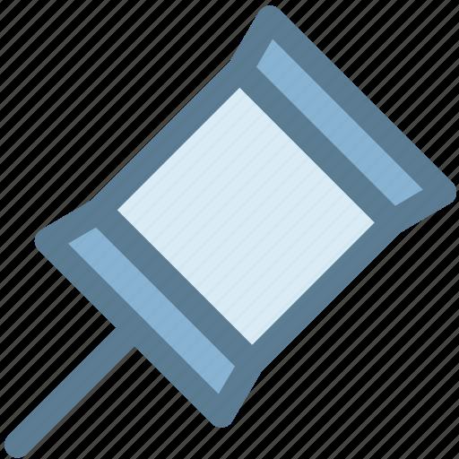 office, pin, pin it, post, tack, tag, thumb tack icon