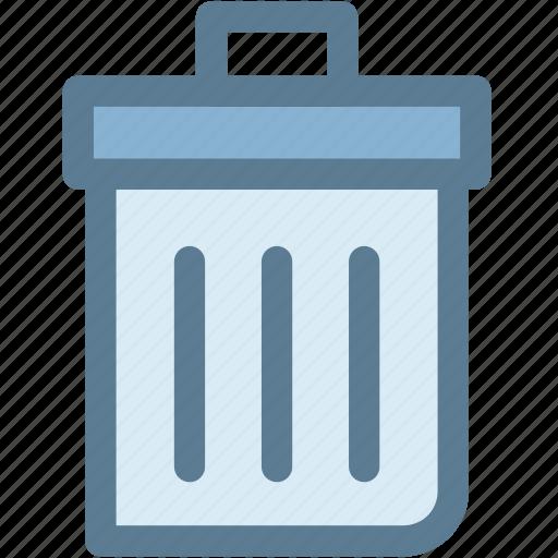 garbage can, general, office, recycle bin, rubbish bin, trash bin, trash can icon