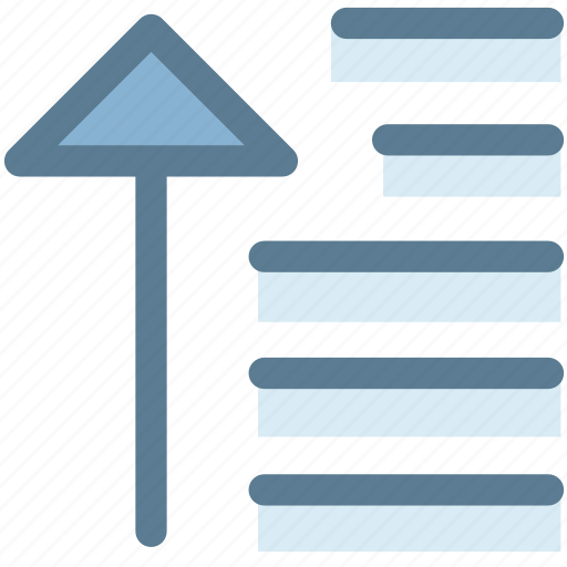 align, arrow, center alignment, general, office, text alignment, up icon