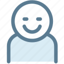 avatar, general, human, office, person, smile, user icon