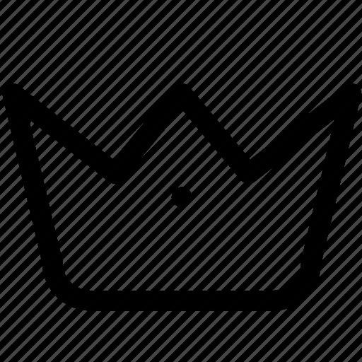 crest, crown, general, item, jwellery, kings crown, office icon