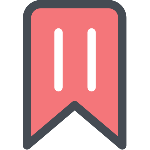 bookmark, general, library, office, reading, ribbon, story icon