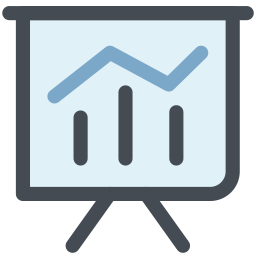 general, graph, increase, office, rise, statistics, success icon