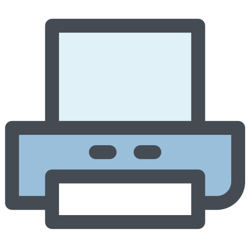 general, inkjet printer, office, paper printer, print, printer, scanner icon