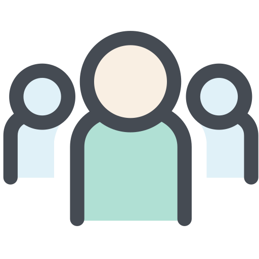 general, group, office, personal, relation, team, team structure icon