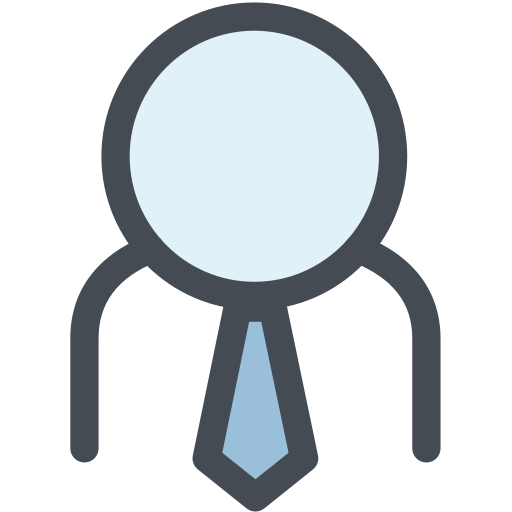 business man, employee, general, human, member, office, tie icon