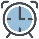 alarm, alarm clock, clock, general, morning alarm, office, watch icon