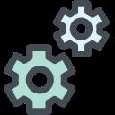 radio settings, gear, office, settings, machine, setting, cog icon