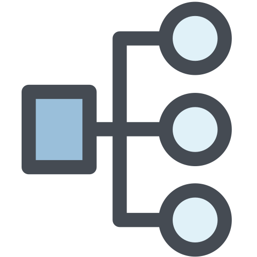 general, hierachy, map, office, site, structure icon