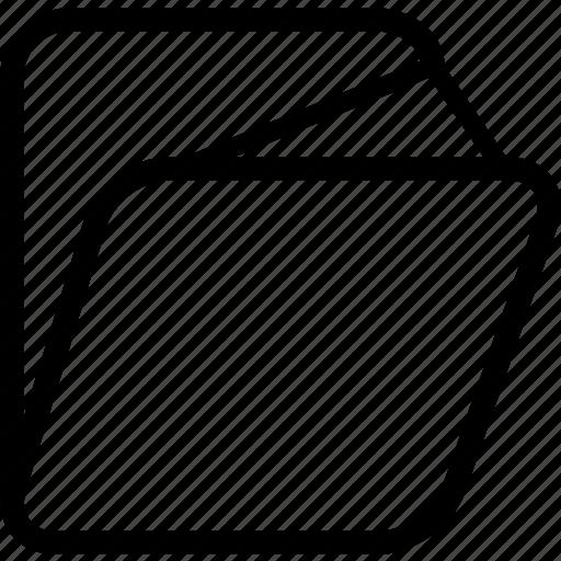 folder, full icon