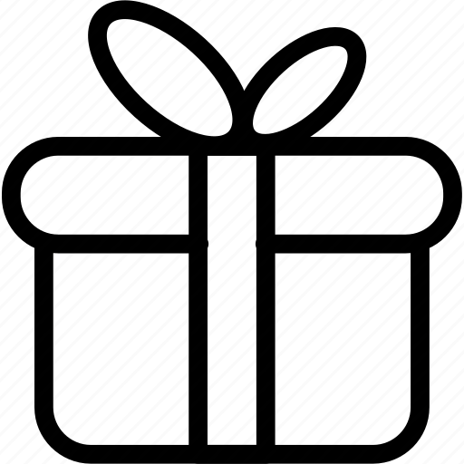 delivery, gifts, package, present icon