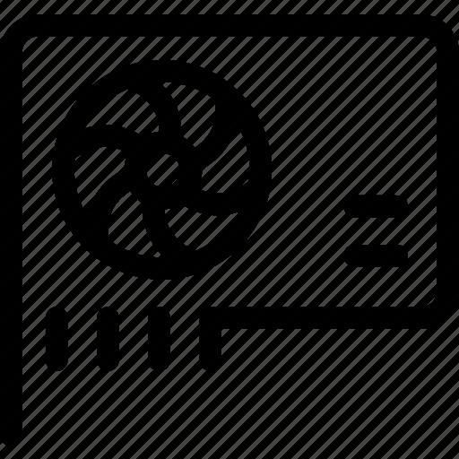 card, display icon