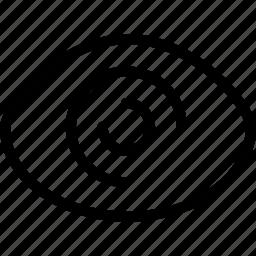 explore, eye, look, view icon
