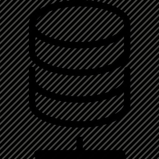 database, online icon