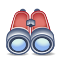 binoculars, search, find