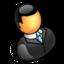 administrator, man, user icon