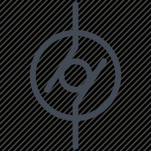 circuit, diagram, electric, electronic, generator, generic generator icon