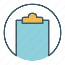blank, document, empty, file, new, office, write icon
