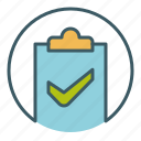 check, document, file, ok, paper, save, success icon