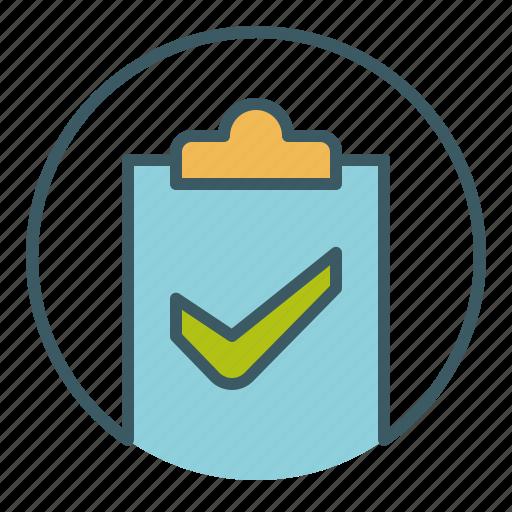 check, document, file, ok, paper, save, success icon