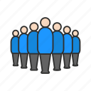 group, network, people, user icon