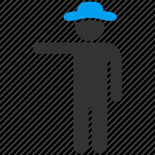 boy, client, customer, gentleman, male, man, show icon