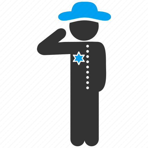 cop, gentleman, guard, male figure, police officer, policeman, sheriff icon