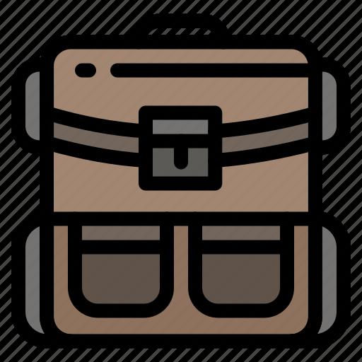 backpack, bag, hiking, luggage, travel icon