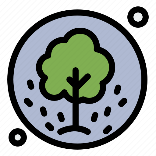 nature, plant, seeds, summer, tree icon