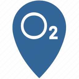 gps, location, oxygen, place, point icon