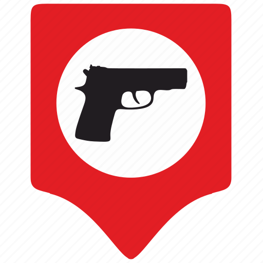 danger, kill, murder, point, pointer, shooting, shot icon