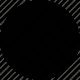 basic, circle, geometrical, round, shape icon