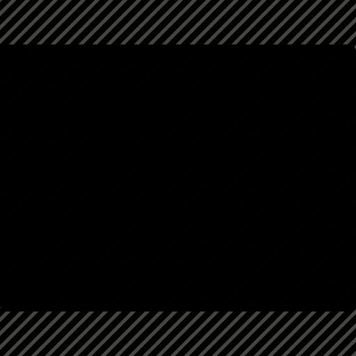 basic, geometrical, object, rectangle, shape icon