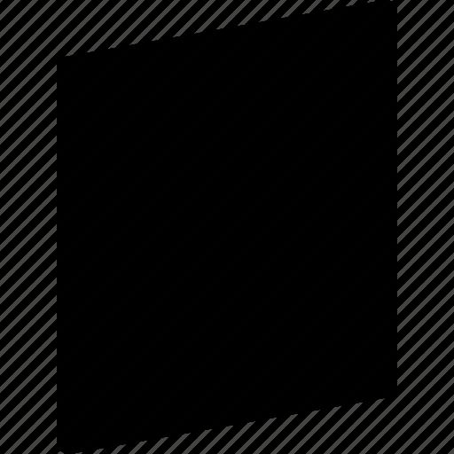 basic, geometrical, object, rhombus, shape icon