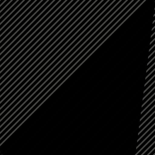 basic, geometrical, phytagoras, shape, triangle icon