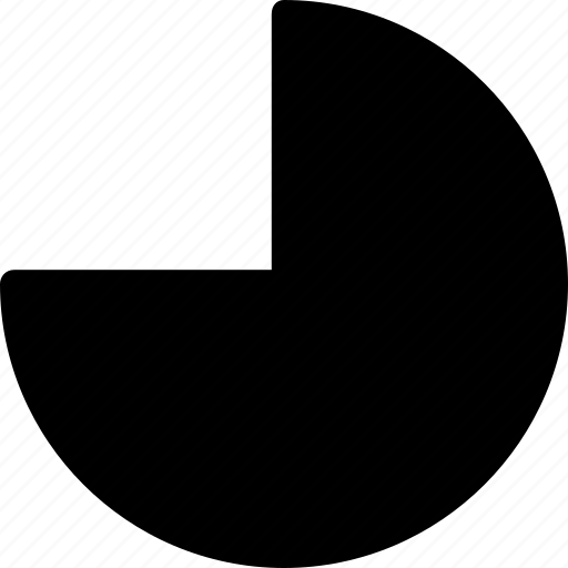 basic, geometrical, object, pie, shape icon