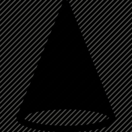basic, geometrical, shape, triangle, volume icon