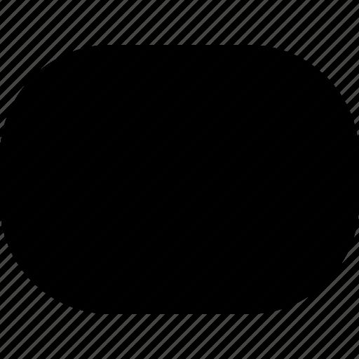 basic, geometrical, object, rounded, shape icon