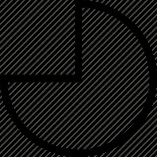 basic, geometrical, math, pie, shape icon