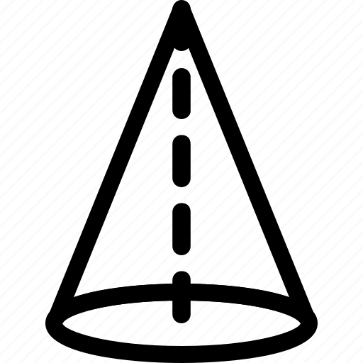 basic, geometrical, shape, stripe, triangle, volume icon