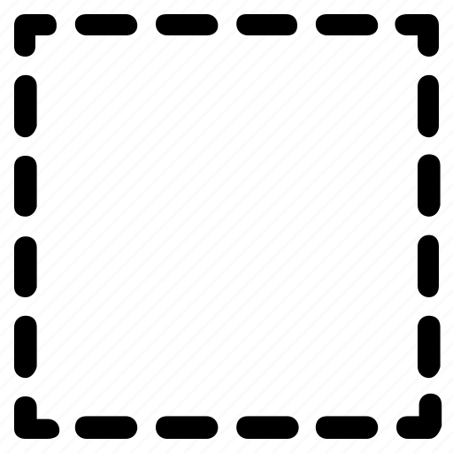 basic, geometrical, shape, square, stripe icon